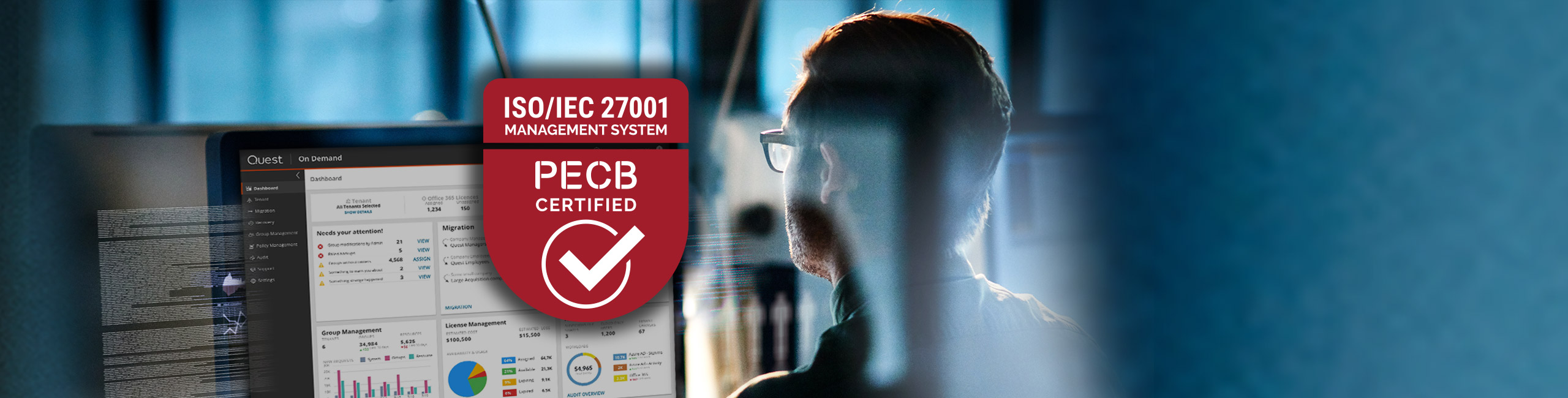 Quest On Demand ISO Certification