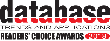 Database trends and applications readers choice awards 2018