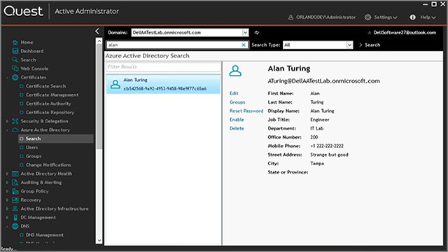 Active Administrator for Azure AD