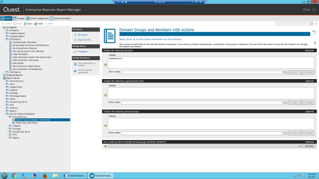 Bring complete visibility to permissions, groups and assets with the Enterprise Reporter Suite