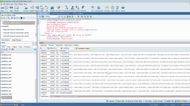 Convert XML data to TEXT data while replicating in SharePlex
