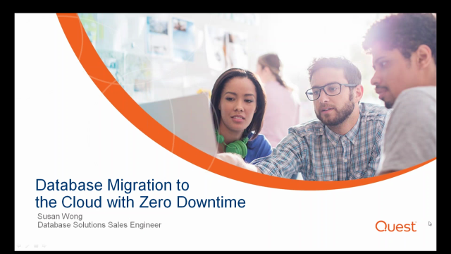Database migration to the cloud with zero downtime