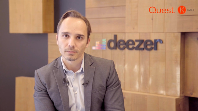 Deezer Maintains Systems Compliance and Security with KACE