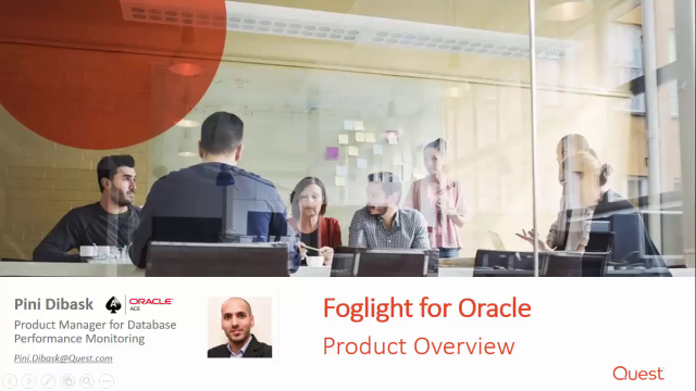 Foglight for Oracle Overview