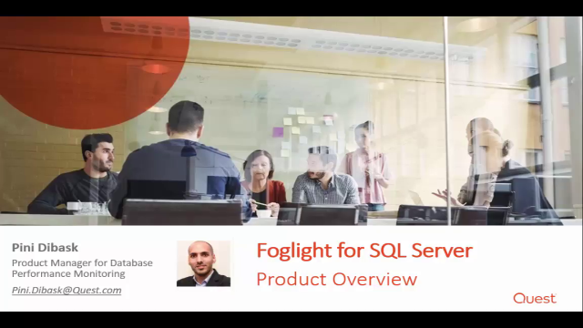 Foglight for SQL Server Overview