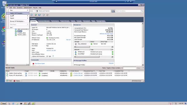 How to deploy DR2000v into VMware ESXi 5.1 using vSphere Client