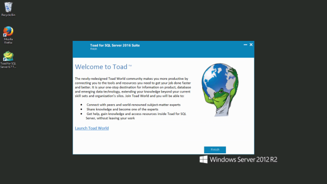 How to install Toad for SQL Server