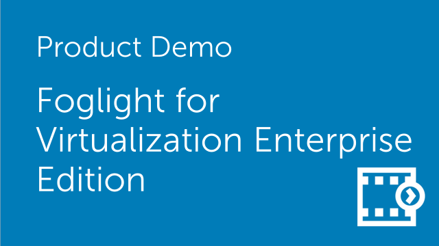 How to manage a VMware vSAN environment in Foglight for Virtualization Enterprise Edition