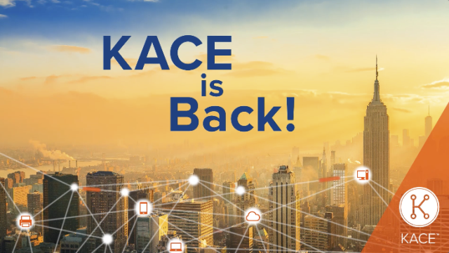 KACE UserKon is Back!