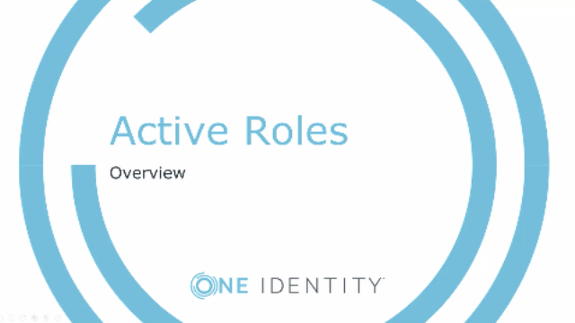 Managing AD/AAD Users with Active Roles