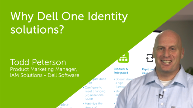 On the Board - Why One Identity solutions?