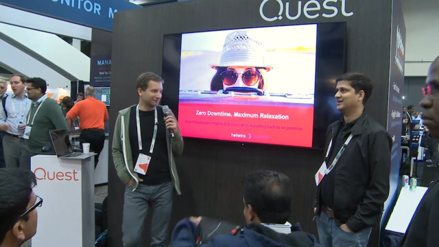 Quest at Oracle OpenWorld 2019: Hotwire presentation