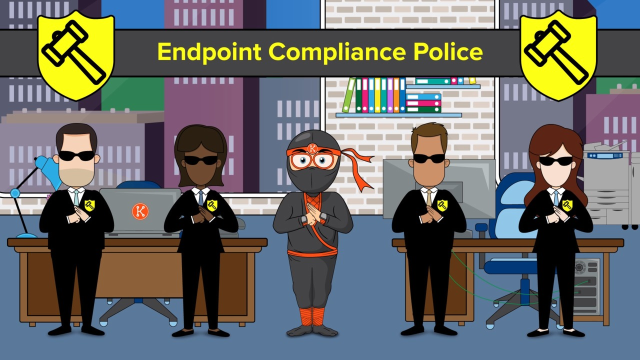 See why Nick the IT ninja relies on KACE to overcome endpoint compliance challenges.
