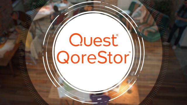 Software-Defined Secondary Storage with QoreStor