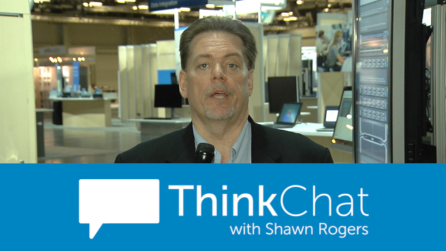#ThinkChat: Shawn Rogers preps for visit with data analytics leaders