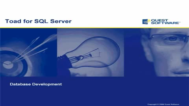 Toad for SQL Server - Database Development