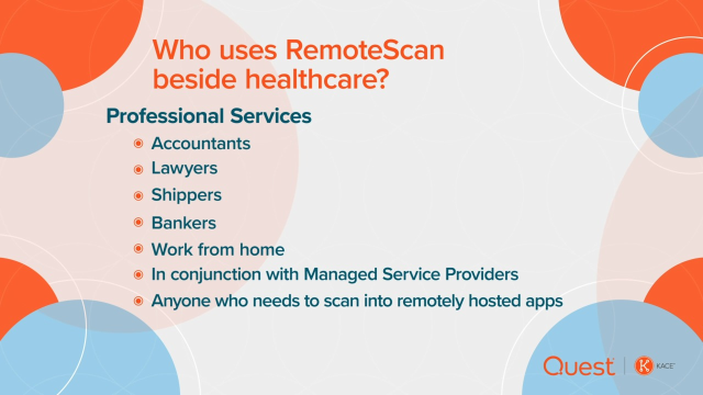 Who Uses KACE RemoteScan?