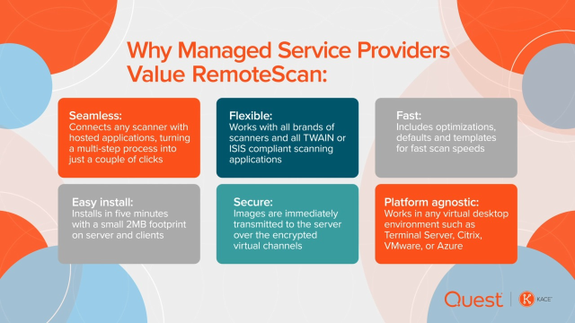 Why Managed Service Providers Value KACE RemoteScan