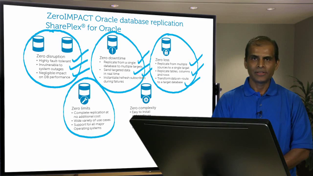 ZeroIMPACT Oracle Database Replication - On the Board