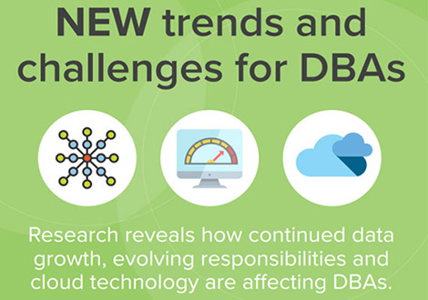 infographic new trends and challenges for dbas